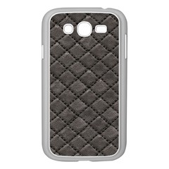 Seamless Leather Texture Pattern Samsung Galaxy Grand Duos I9082 Case (white)