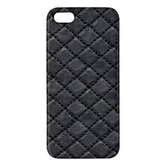 Seamless Leather Texture Pattern Iphone 5s/ Se Premium Hardshell Case