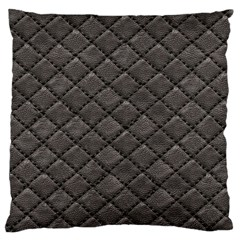 Seamless Leather Texture Pattern Large Flano Cushion Case (one Side)