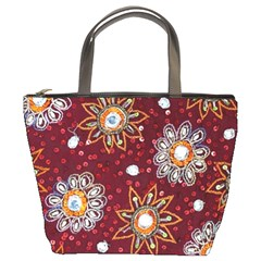 India Traditional Fabric Bucket Bags