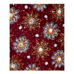 India Traditional Fabric Shower Curtain 60  X 72  (medium)