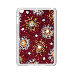 India Traditional Fabric Ipad Mini 2 Enamel Coated Cases by BangZart