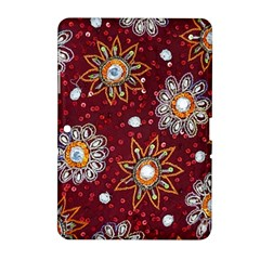 India Traditional Fabric Samsung Galaxy Tab 2 (10 1 ) P5100 Hardshell Case  by BangZart