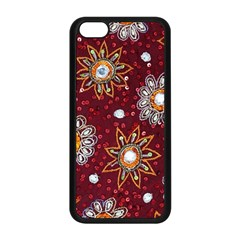 India Traditional Fabric Apple Iphone 5c Seamless Case (black) by BangZart
