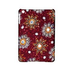 India Traditional Fabric Ipad Mini 2 Hardshell Cases by BangZart