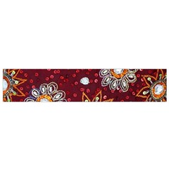 India Traditional Fabric Flano Scarf (small) by BangZart