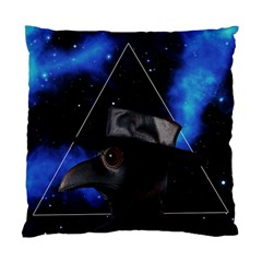 Bird Man  Standard Cushion Case (one Side) by Valentinaart