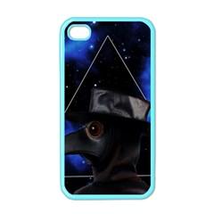 Bird Man  Apple Iphone 4 Case (color) by Valentinaart