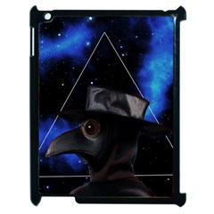 Bird Man  Apple Ipad 2 Case (black) by Valentinaart