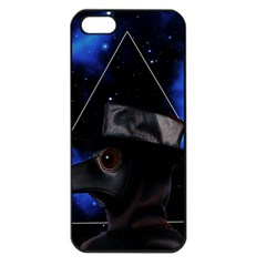 Bird Man  Apple Iphone 5 Seamless Case (black) by Valentinaart