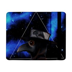Bird Man  Samsung Galaxy Tab Pro 8 4  Flip Case by Valentinaart