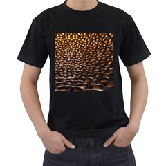 Digital Blasphemy Honeycomb Men s T Shirt (black) (two Sided)