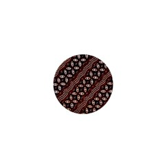 Art Traditional Batik Pattern 1  Mini Buttons
