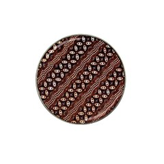 Art Traditional Batik Pattern Hat Clip Ball Marker (4 Pack) by BangZart