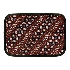 Art Traditional Batik Pattern Netbook Case (medium)