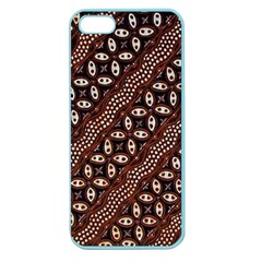 Art Traditional Batik Pattern Apple Seamless Iphone 5 Case (color) by BangZart