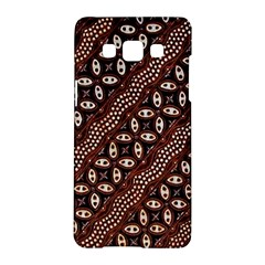 Art Traditional Batik Pattern Samsung Galaxy A5 Hardshell Case  by BangZart