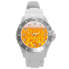 Beer Alcohol Drink Drinks Round Plastic Sport Watch (l) by BangZart
