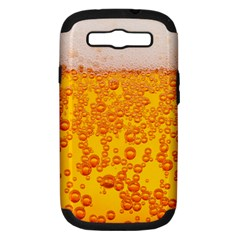 Beer Alcohol Drink Drinks Samsung Galaxy S Iii Hardshell Case (pc+silicone) by BangZart