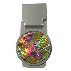 Technology Circuit Computer Money Clips (round)