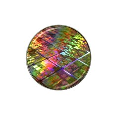 Technology Circuit Computer Hat Clip Ball Marker (4 Pack) by BangZart