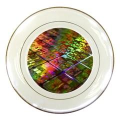 Technology Circuit Computer Porcelain Plates