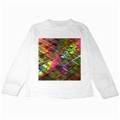 Technology Circuit Computer Kids Long Sleeve T Shirts