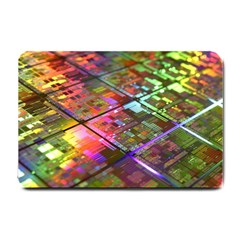 Technology Circuit Computer Small Doormat  by BangZart
