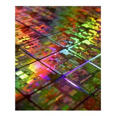 Technology Circuit Computer Shower Curtain 60  X 72  (medium)