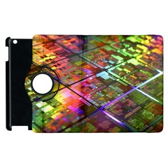 Technology Circuit Computer Apple Ipad 3/4 Flip 360 Case