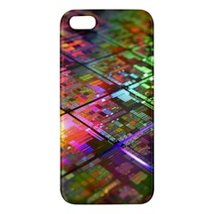 Technology Circuit Computer Apple Iphone 5 Premium Hardshell Case