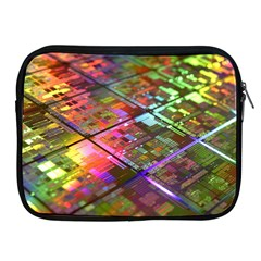 Technology Circuit Computer Apple Ipad 2/3/4 Zipper Cases by BangZart