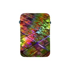 Technology Circuit Computer Apple Ipad Mini Protective Soft Cases by BangZart