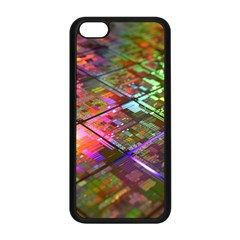 Technology Circuit Computer Apple Iphone 5c Seamless Case (black)