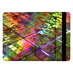 Technology Circuit Computer Samsung Galaxy Tab Pro 12 2  Flip Case by BangZart