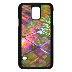 Technology Circuit Computer Samsung Galaxy S5 Case (black) by BangZart