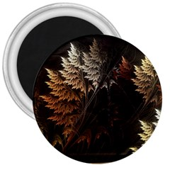 Fractalius Abstract Forests Fractal Fractals 3  Magnets by BangZart