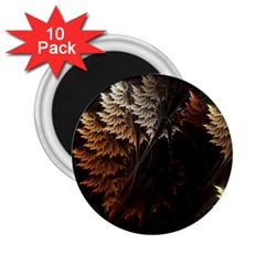Fractalius Abstract Forests Fractal Fractals 2 25  Magnets (10 Pack)  by BangZart