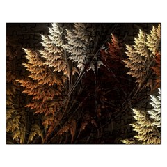 Fractalius Abstract Forests Fractal Fractals Rectangular Jigsaw Puzzl