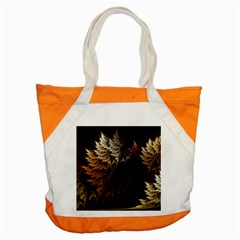 Fractalius Abstract Forests Fractal Fractals Accent Tote Bag by BangZart