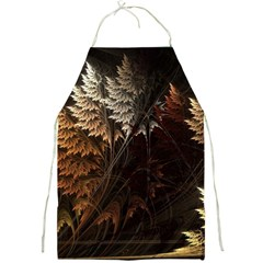 Fractalius Abstract Forests Fractal Fractals Full Print Aprons