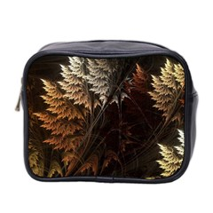 Fractalius Abstract Forests Fractal Fractals Mini Toiletries Bag 2 Side