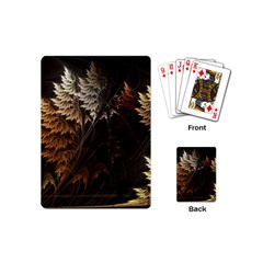 Fractalius Abstract Forests Fractal Fractals Playing Cards (mini)  by BangZart