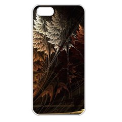 Fractalius Abstract Forests Fractal Fractals Apple Iphone 5 Seamless Case (white) by BangZart
