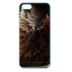 Fractalius Abstract Forests Fractal Fractals Apple Seamless Iphone 5 Case (color)