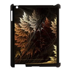 Fractalius Abstract Forests Fractal Fractals Apple Ipad 3/4 Case (black)