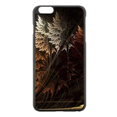 Fractalius Abstract Forests Fractal Fractals Apple Iphone 6 Plus/6s Plus Black Enamel Case by BangZart