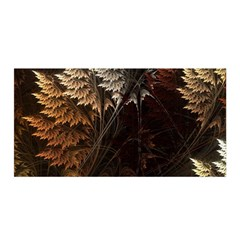 Fractalius Abstract Forests Fractal Fractals Satin Wrap