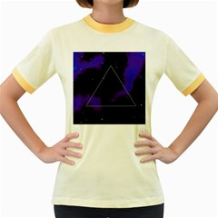 Space Women s Fitted Ringer T Shirts