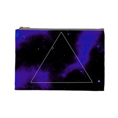 Space Cosmetic Bag (large)  by Valentinaart